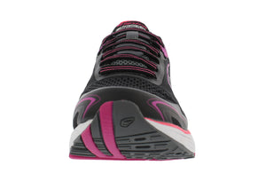 spira aquarius women's running shoe black / coral / white front
