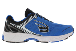 spira aquarius men's running shoe blue / black / white inside