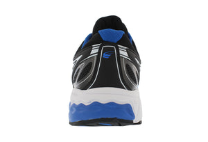 spira aquarius men's running shoe blue / black / white back