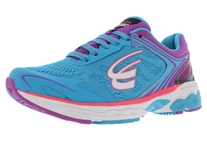 spira aquarius women's running shoe blue / purple / white outside