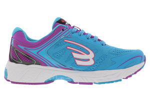 spira aquarius women's running shoe blue / purple / white inside