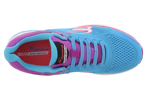 spira aquarius women's running shoe blue / purple / white top