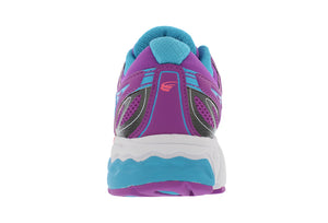spira aquarius women's running shoe blue / purple / white back