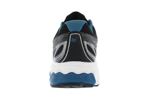 spira aquarius men's running shoe charcoal / blue back