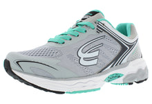 Load image into Gallery viewer, spira aquarius women's running shoe gray charcoal mint outside