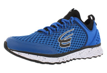 Load image into Gallery viewer, spira phoenix men's running shoe royal / black / white outside