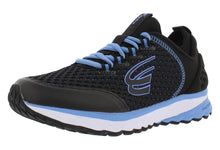 Load image into Gallery viewer, spira women's running shoe black blue outside