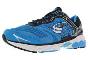 spira scorpius ii men's running shoe blue black white outside