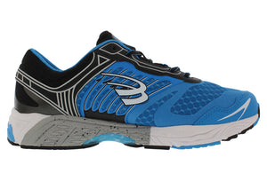 spira scorpius ii men's running shoe blue black white inside
