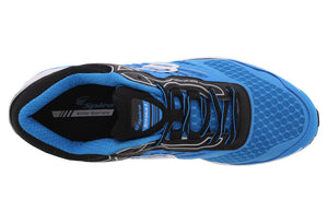 spira scorpius ii men's running shoe blue black white top