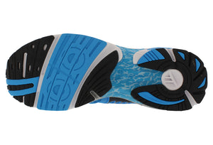 spira scorpius ii men's running shoe blue black white bottom