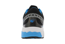 Load image into Gallery viewer, spira scorpius ii men's running shoe blue black white back