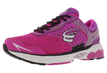 Load image into Gallery viewer, spira scorpius ii women's running shoe fushcia / purple / white outside