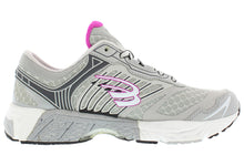 Load image into Gallery viewer, spira scorpius II women's running shoe gray / charcoal / fuschia inside
