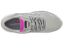 Load image into Gallery viewer, spira scorpius II women's running shoe gray / charcoal / fuschia top