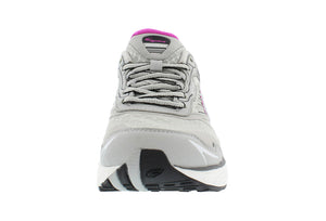 spira scorpius II women's running shoe gray / charcoal / fuschia front