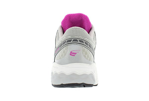 spira scorpius II women's running shoe gray / charcoal / fuschia back