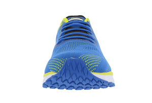 spira vento mens running shoe blue / yellow / black front