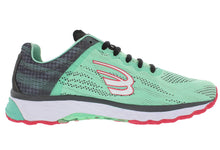 Load image into Gallery viewer, spira vento running shoe mint/charcoal/coal inside