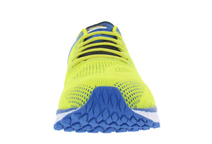 spira vento men's running shoe yellow / blue / black front