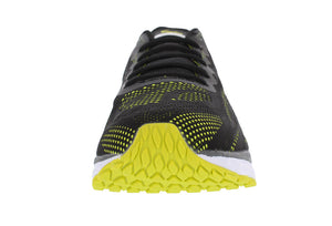 spira vento men's running shoe black / neon / white front