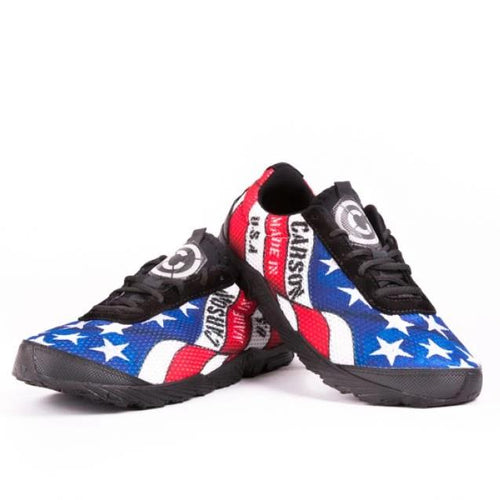 carson footwear stars and stripes running shoes unisex