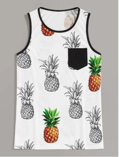 Shein Pineapple Run Tank Men's | Run Uncommon