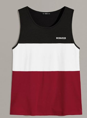 Shein Color Block Run Tank Men's | Run Uncommon