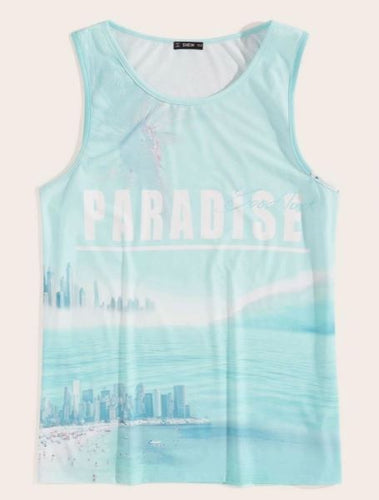 Shein Paradise Run Tank Men's | Run Uncommon