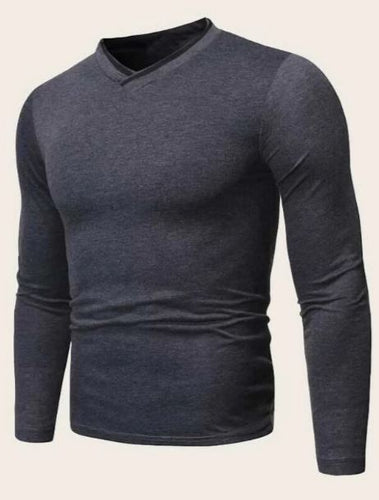 Shein V Neck Long Sleeve Men's | Run Uncommon