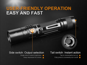 fenix uc35 light operational highlights