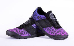 cheetah trail shoes in ultraviolet color