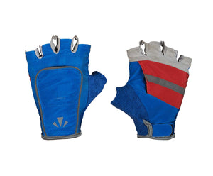 runlites led running light half glove volt blue