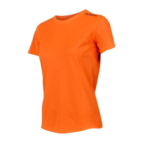 fusion C3+ Short Sleeve women's orange