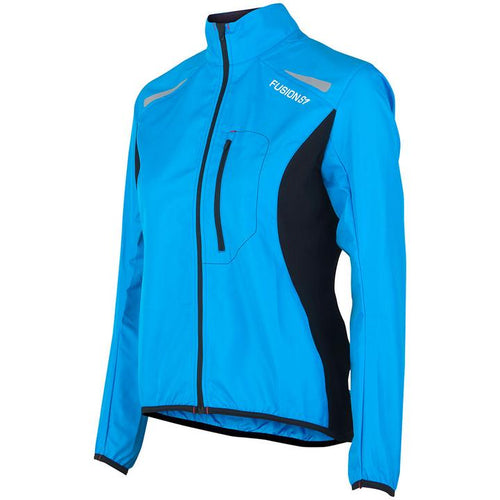 fusion women's s1 performance running jacket surf front
