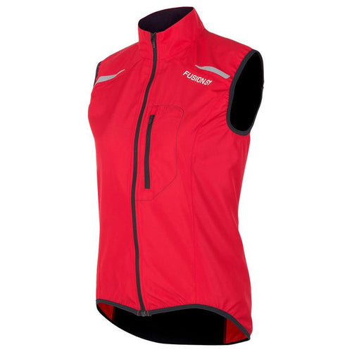 fusion s1 performance running vest red front