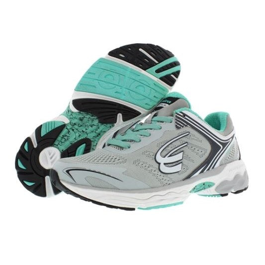 spira aquarius women's running shoe gray charcoal mint