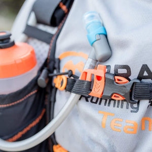 orange mud adventure pack 20l hydration closeup