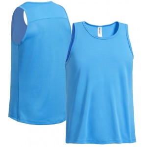 expert men's tech tank running blue