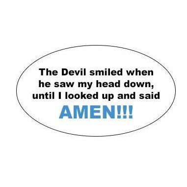 running decal amen