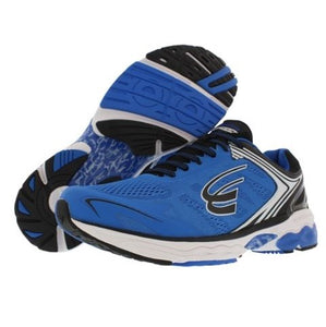 spira aquarius men's running shoe blue / black / white