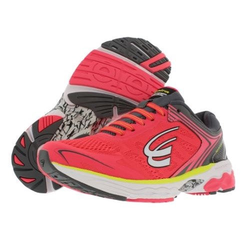 spira aquarius women's running shoe coral / black / white