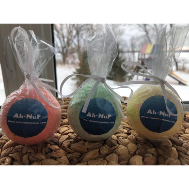 running recovery bath bomb ah-nuf 3-pack