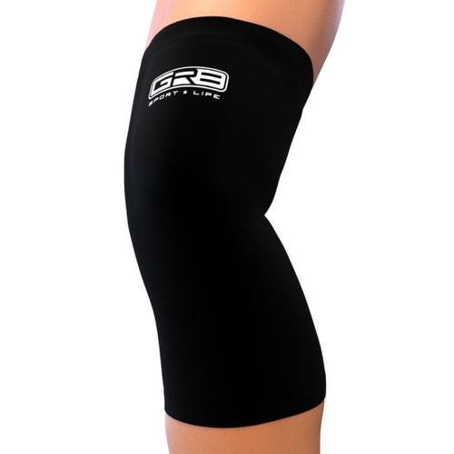 knee compression sleeve go2 black