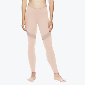 bleeker gaiam pink front legging