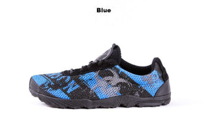 zombie racer performance trail shoe in blue