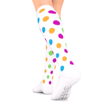 Load image into Gallery viewer, GO2 ELITE compression polka dots