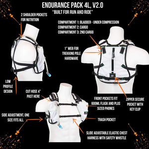 orange mud endurance 4L white