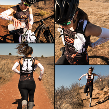 Load image into Gallery viewer, orange mud endurance 4L woman running