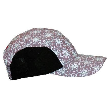 ruseen performance running reflective hat floral pattern